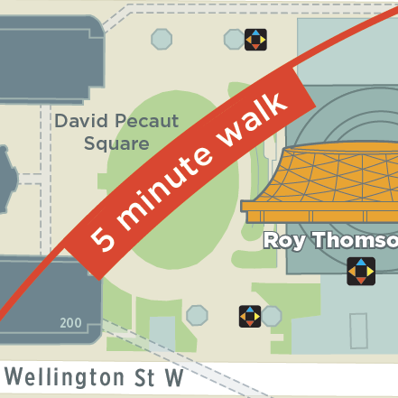 toronto Wayfinding map icons